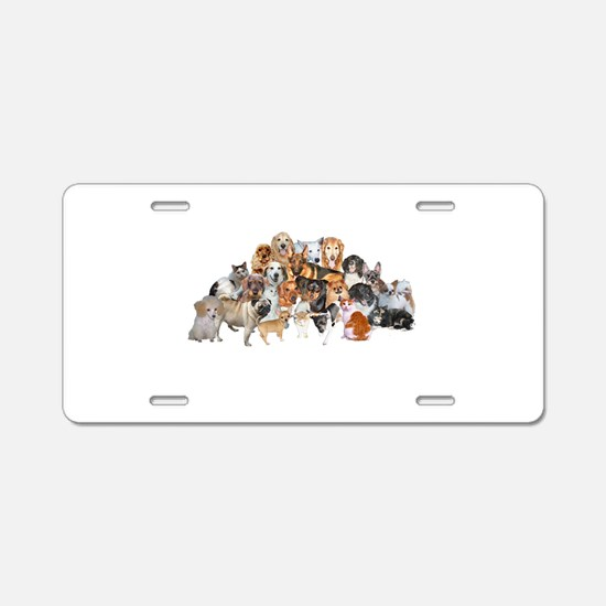 Other Dogs and Cats Aluminum License Plate