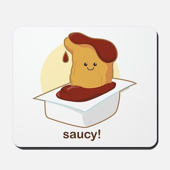 Saucy! Mousepad