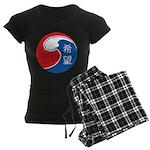 Japan Relief Women's Dark Pajamas