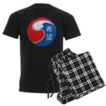 Japan Relief Men's Dark Pajamas