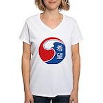 Japan Relief Women's V-Neck T-Shirt