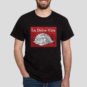 La Dolce Vita - Food and Wine Dark T-Shirt