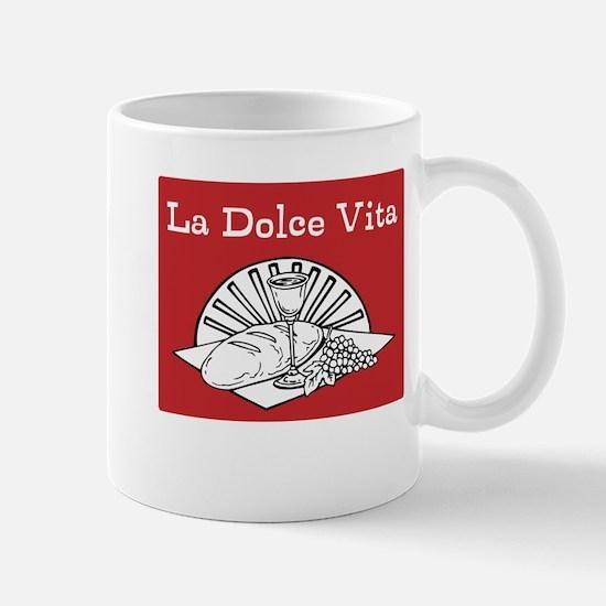 La Dolce Vita - Food and Wine Mug