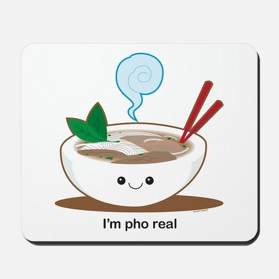 Pho Real! Mousepad