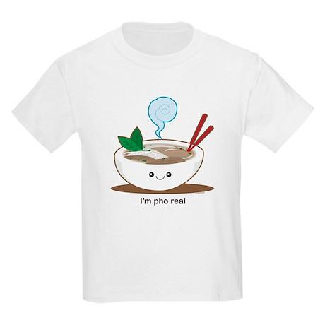 Pho Real! Kids Light T-Shirt
