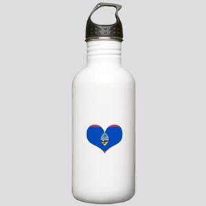 Guam Heart Stainless Water Bottle 1.0L