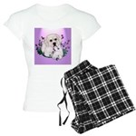 Great Pyranees Pup Women's Light Pajamas