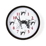 Its Time To Ski Wall Clock