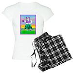 Hula Bulldog Women's Light Pajamas