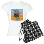 Sherriff bulldog Women's Light Pajamas