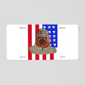 Bullldog Marine Aluminum License Plate