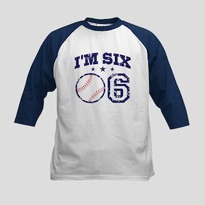 Six Year Old Baseball Kids Baseball Jersey