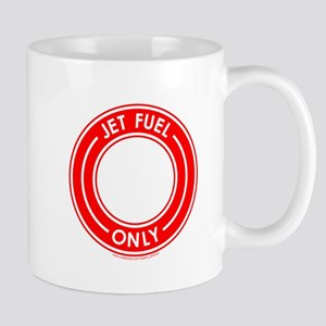 Jet Fuel Only Red Mug