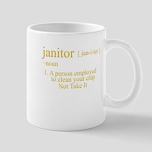 funny janitor Mug