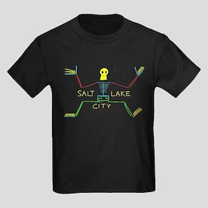 SALT LAKE CITY Kids Dark T-Shirt