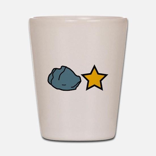 Rock Star Shot Glass