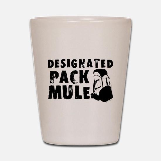Designated Pack Mule Shot Glass
