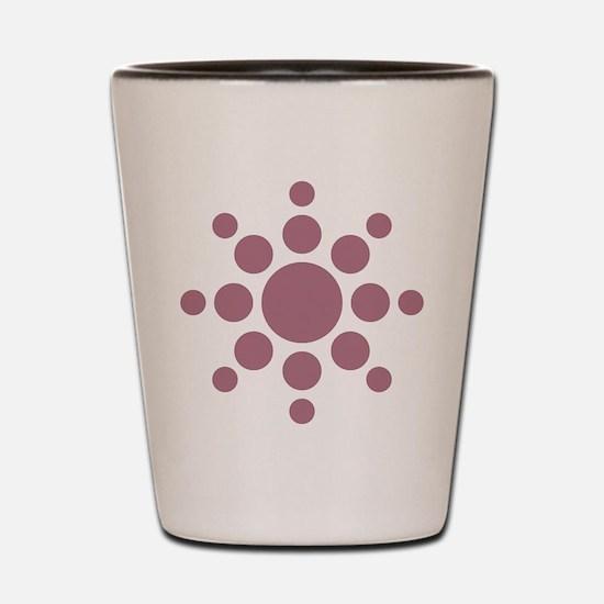 Sun Symbol Shot Glass