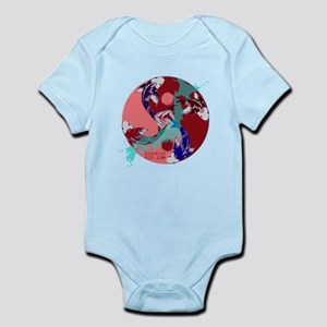 YIN & YANG UNITY FISH Infant Bodysuit