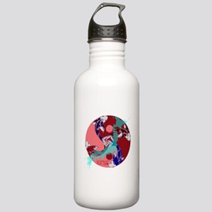 YIN & YANG UNITY FISH Stainless Water Bottle 1.0L