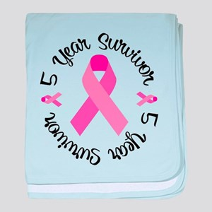 5 Year Survivor baby blanket