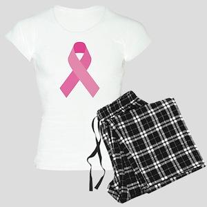 Single Pink Ribbon Women's Light Pajamas
