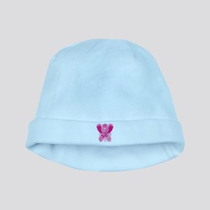 Pink Ribbon Design baby hat