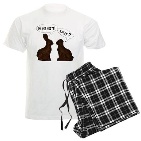EASTER: My Ass Hurts Men's Light Pajamas
