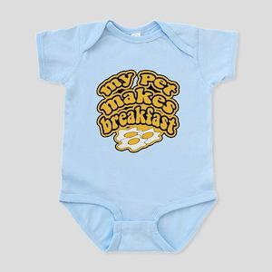 My Pet Makes Breakfast Infant Bodysuit
