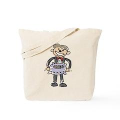 Cartoon Ring Bearer Tote Bag