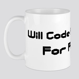 Will Code FoxPro For Food Mug