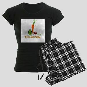 Some Like It Raw by Amy Reich Women's Dark Pajamas