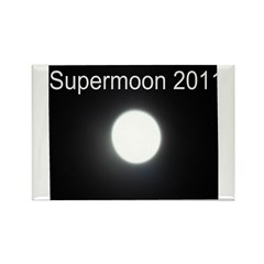 Supermoon 2011 Rectangle Magnet (100 pack)