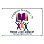 Campaign for Strong School Libraries Banner