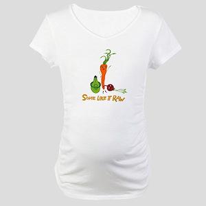 Some Like It Raw Veggie Trio Maternity T-Shirt