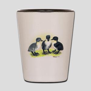 Swedish Duck Ducklings Shot Glass