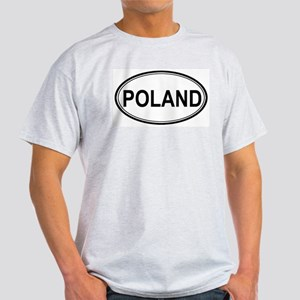 Poland Euro Ash Grey T-Shirt