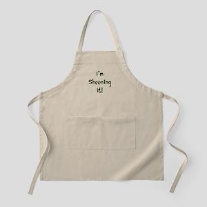 I'm Sheening It! Charlie Sheen Apron