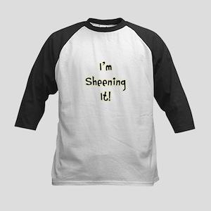 Im Sheening It! Charlie Sheen Kids Baseball Jersey