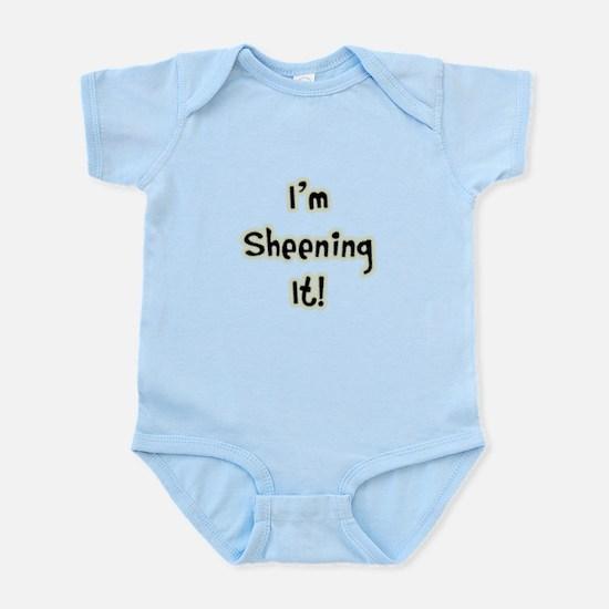 I'm Sheening It! Charlie Sheen Infant Bodysuit