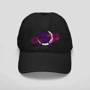 FASTPITCH SOFTBALL Black Cap