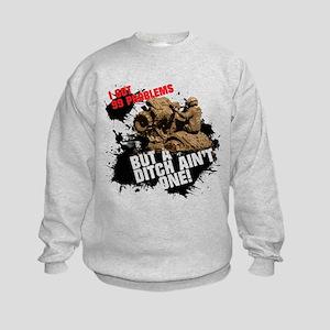 99 PROBLEMS Kids Sweatshirt