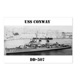 USS CONWAY Postcards (Package of 8)