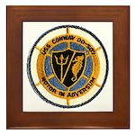 USS CONWAY Framed Tile
