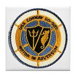 USS CONWAY Tile Coaster