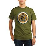 USS CONWAY Organic Men's T-Shirt (dark)