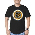 USS CONWAY Men's Fitted T-Shirt (dark)