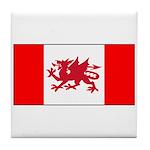 Welsh Canadian Tile Coaster