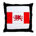 Welsh Canadian Throw Pillow