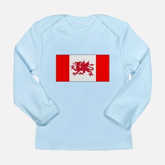 Welsh Canadian Long Sleeve Infant T-Shirt